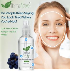 Derma Active Serum Ingredientes. ¿Tiene efectos secundarios?