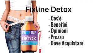 Fixline Detox Ingredientes. ¿Tiene efectos secundarios?